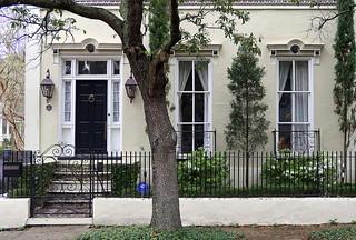 52 Smith Street (1850), Harleston Village, Charleston, SC   by Spencer Means