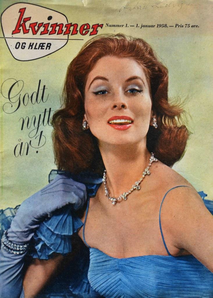 4756f65e Kvinner og Klær 1958 | ( grandmothers magazine ) | KvikneFoto | Flickr