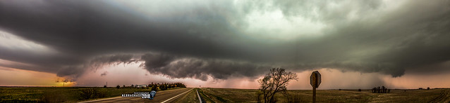 050118 - 3rd Storm Chase of 2018 (Pano)