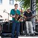 Huval-Fuselier Cajun Band, plus a visit from stiltwalkers at Festival International, April 28, 2018