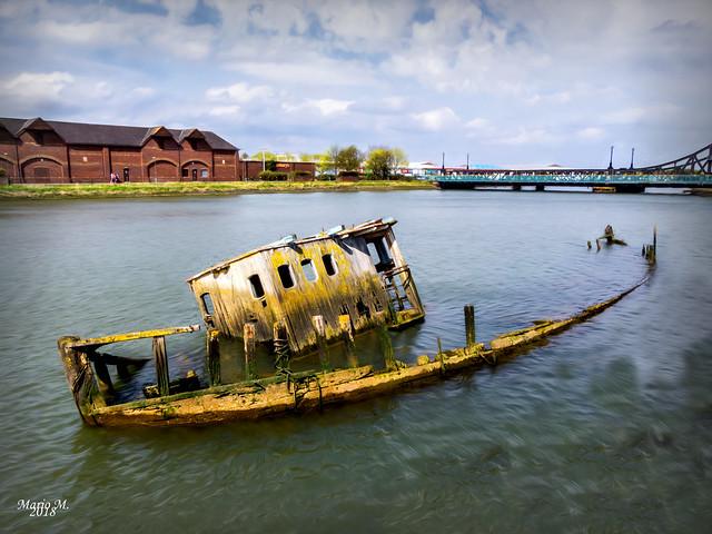 Grimsby am alten Hafen