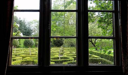 theknotgarden moseleyoldhall knotgarden nationaltrust garden gardens historic history