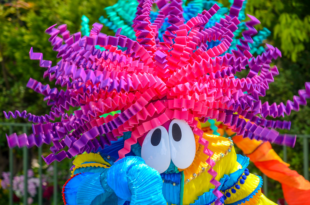 Crazy color guy close Dreaming Up TDL