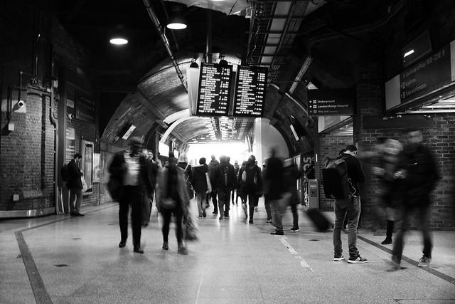 London Bridge Station (B&W)