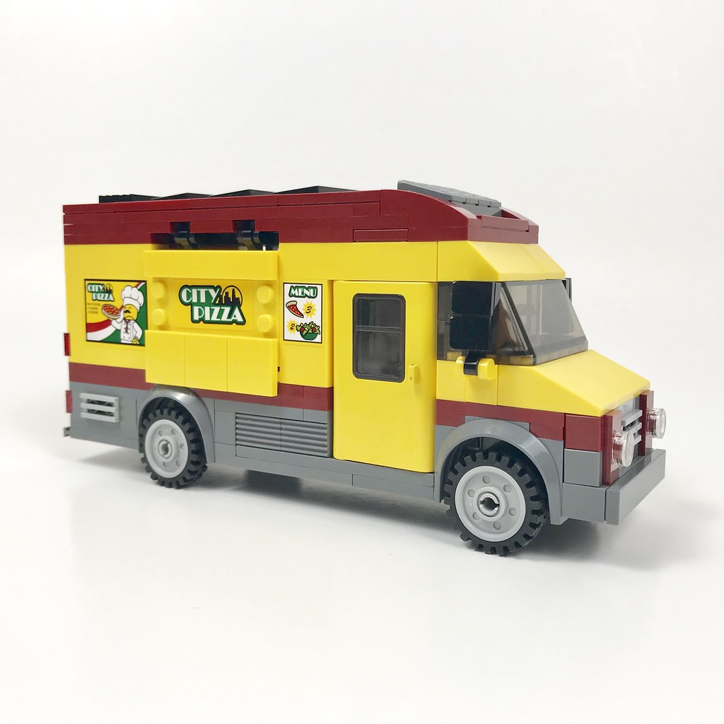 City Pizza Food Truck 60150 Mod I Decided That The Food