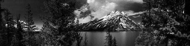 Grandeur from across the lake