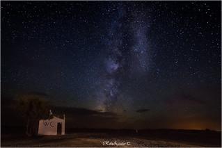 Momentos de desierto., Marruecos. Quién busca, halla.... ;) Nikon D7100, F/2.8, 11mm en un Tokina 11-16; ISO 3200, 25 segs.