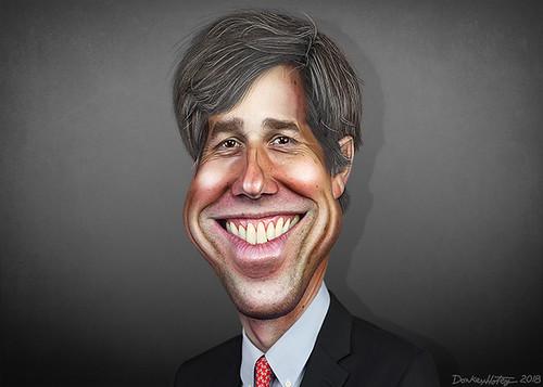 Beto O'Rourke - Caricature | by DonkeyHotey