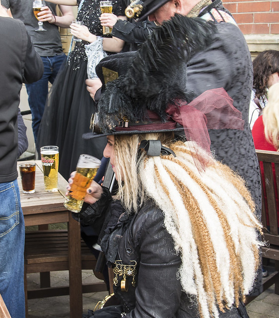 Whitby Goth Weekend, April 2018