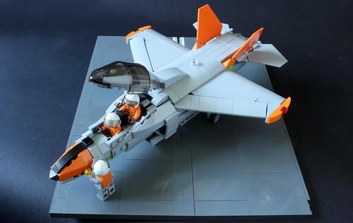 Carrier trainer jet 9