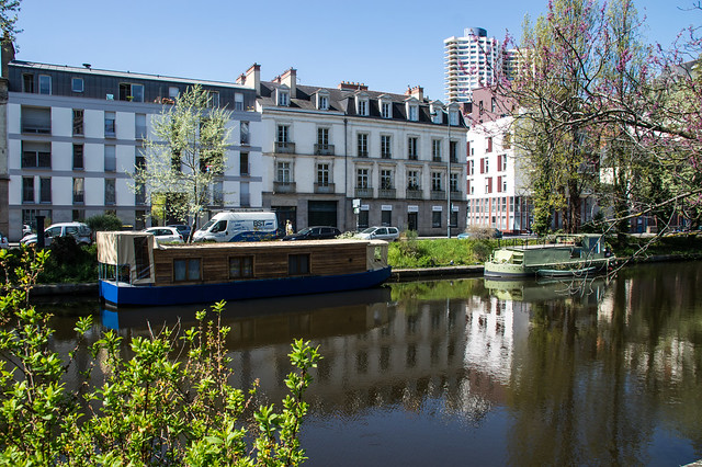 Rennes Canal Houseboats