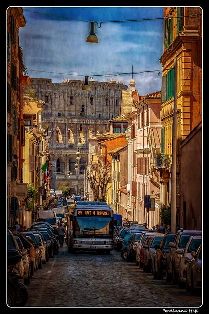 Roma_Via di S. Giovanni in Laterano