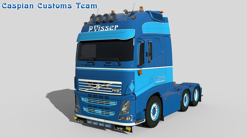 Uitgelezene Volvo Visser | Caspian Customs Team | Flickr RG-14