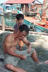 Sihanoukville: Tomnub Rolork Fischerdorf