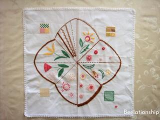 "Totsuka Embroidery Basic Stitches Practice ""Hanazono"" | by Beelationship Embroidery Studio"