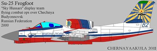 Early artist impression of Soviet RAM-J (Su-25 'Frogfoot')-SkyHussars | by Motschke