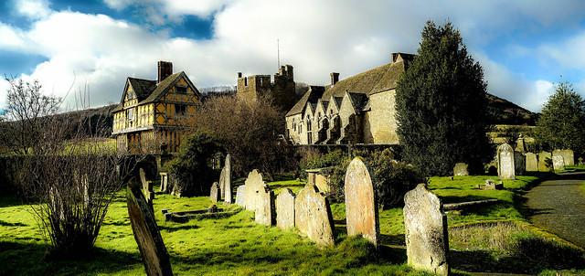 Stokesay Castle & Church Yard