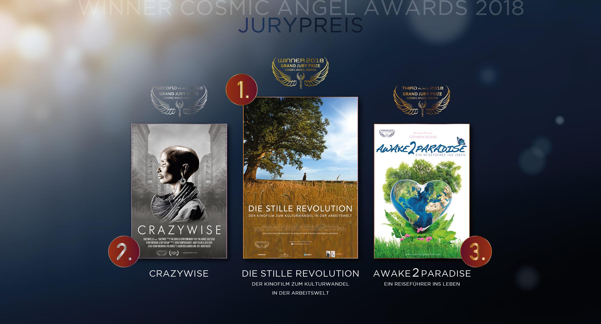 Cosmic Cine - Winner Cosmic Angel Grande Jury Prize - Juryprize