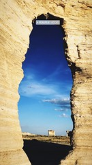The Arch at Monument Rocks