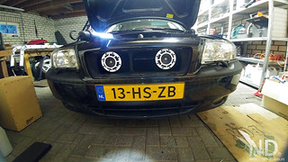 Volvo S80 2.4T Hella Horns mod (white)   by ND-Photo.nl