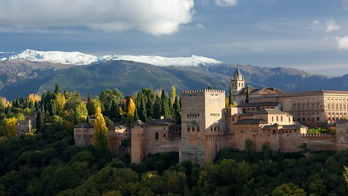Alhambra and Sierra Nevada