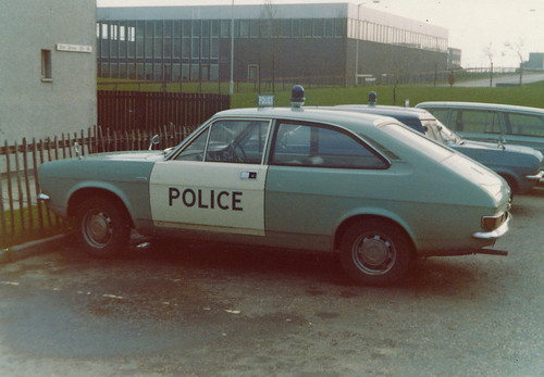 Morris Marina 1.3 Coupe 'ZH F14', Lothian & Borders Police (Currie),Livingston.1975 | by landshark2084
