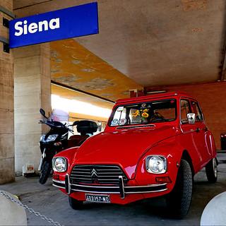 Citroën Dyane, Stazione di Siena