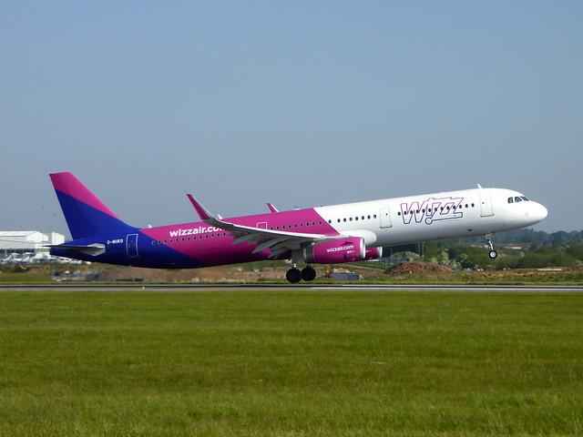 G-WUKG Airbus A321-231 cn 8236 Wizz Air UK Luton 19May18