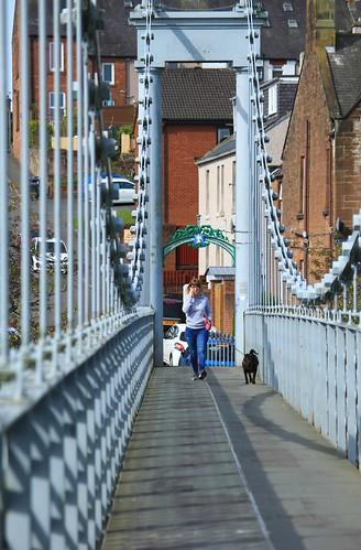 Dumfries suspension bridge | by alasdair massie