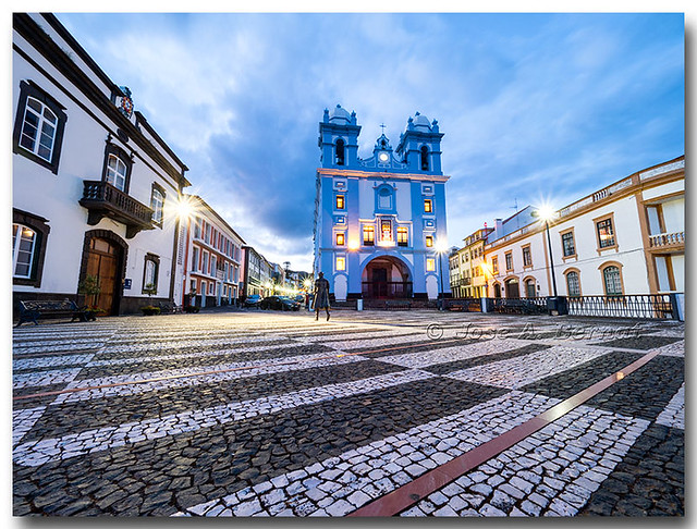 Iglesia de la Misericordia, Angra do Heroísmo, patrimonio de la humanidad, UNESCO, isla de Terceira, islas Azores, Portugal.