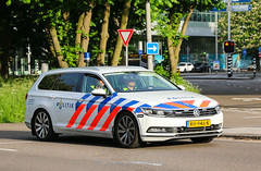 Dutch traffic police Volkswagen Passat