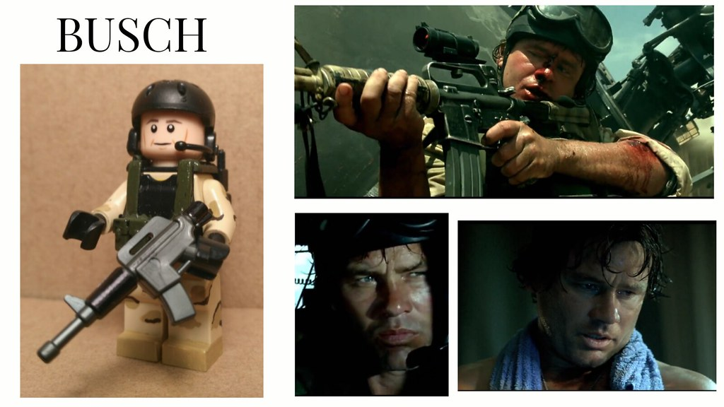 The Black hawk down movie character: Delta Force operator …   Flickr