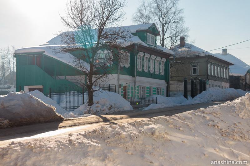 Дома в центре Солигалича