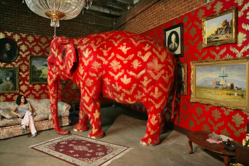 The Elephant in the Room by #Banksy
