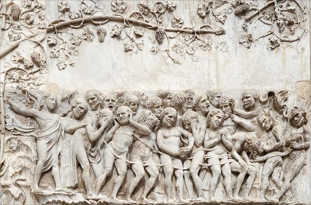 Les Damnés (Cathédrale d'Orvieto, Italie)