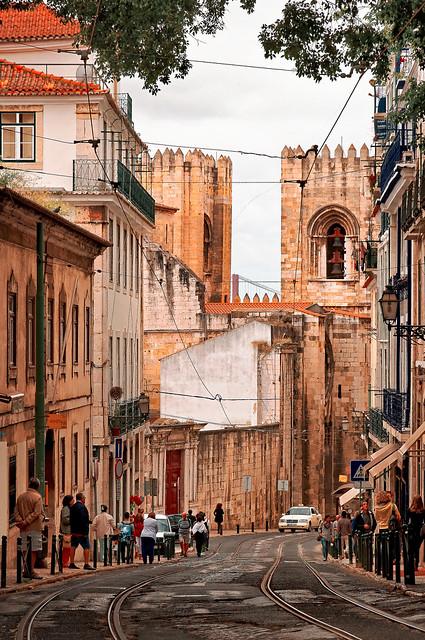 Lisbonne / Cathédrale Santa Maria Maior de Lisbonne