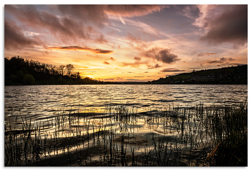 leeming leemingreservoir yorkshire d600 ngc nikonfxshowcase nikkor1635mmf4 water reservoir sunset
