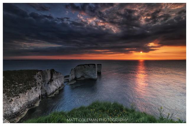 Old Harry's Rock Sunrise