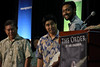 """Univeristy of Hawaii College of Engineering graduates took the customary """"Order of the Engineer"""" oath before receiving their certificates and rings at the annual spring convocation on May 11, 2018 at the Neal S. Blaisdell Arena."""