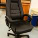 High back luxury leatherette swivel E225