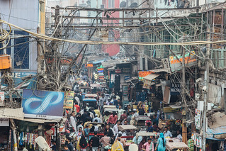Bustling New Delhi India | by AdamCohn