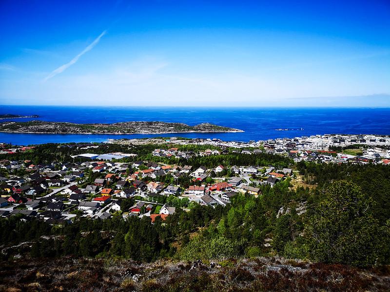 38-Utsikt over Dale og Skorpa i Kristiansund fra Kvernberget