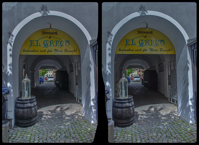 Gateway towards the market place 3-D / Stereoscopy / CrossEye / HDRaw