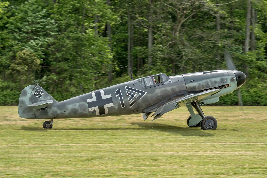 MESSERSCHMITT BF109-G4, Schwartz-1, W-nr19257, Warbirds ov