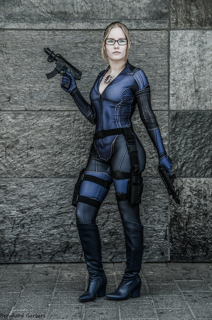 Jill Valentine Cosplay Resident Evil Hanami Con Me