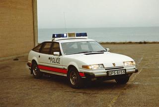 Rover SD1 GFS 615X, 'ZH T15', L&B Traffic Dept,Fettes. Seafield.1982 | by landshark2084