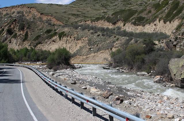 The Baksan River