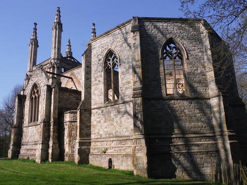 Anglican Chapel (Nunhead Cemetery) SWC Short Walk 41 - Nunhead, Honor Oak and Peckham Rye