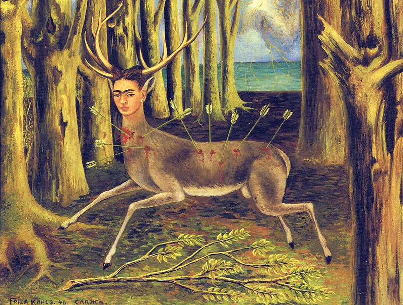 037-Yaralı-Geyik-The-Wounded-Deer-Frida-Kahlo-1024x774