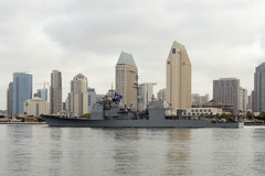 USS Mobile Bay (CG 53) departs San Diego, April 16. (U.S. Navy/Clinton C. Beaird)
